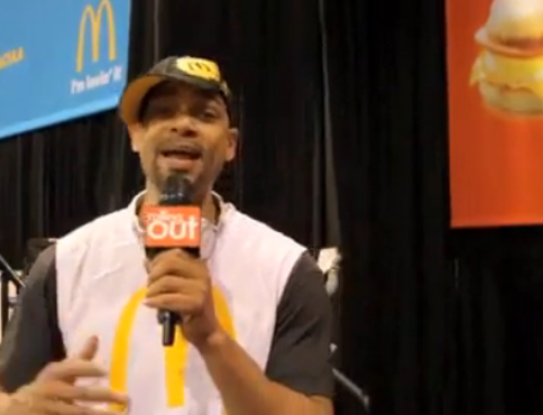 "Check Out ""ROCK-T"" with #McDonalds at #CIAA – This is Why I Support… [VIDEO]"